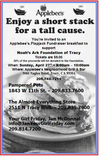 Applebees Fundraiser 4.27.14